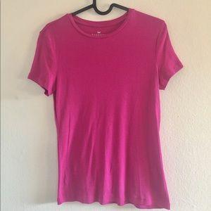 [Talbots] Classic Fuchsia T-Shirt - XS
